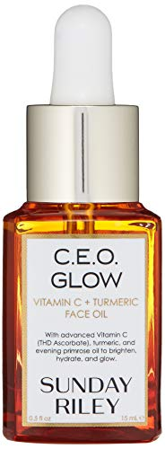 Sunday Riley C.E.O. Glow Vitamin C & Turmeric Face Oil, 0.5 Fl Oz
