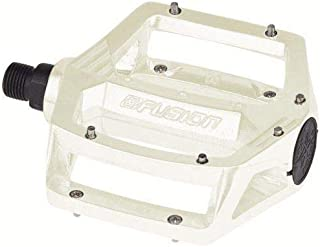 Haro Alloy Fusion Bicycle Pedals - 9/16 White