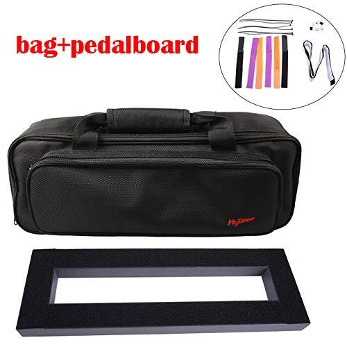 Gitaar Effect Pedaal Board Setup 40X13 cm DIY Gitaar Pedalboard met Magic Tape Muziekinstrument Accessoire te koop 120 B Pedalboardwithbag