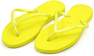 Dupe Yellow Flip Flop Thong Design Slipper for Women