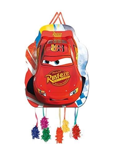 ALMACENESADAN 0842, Piñata Perfil Disney Cars,, Fiestas y cumpleaños, Dimensiones: 33x46 cms