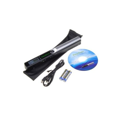 : Portable Cordless Handheld Document Image Scanner