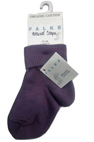 Falke Natural Steps 10607 Chaussettes bébé en coton bio - Violet - 1-6 mois
