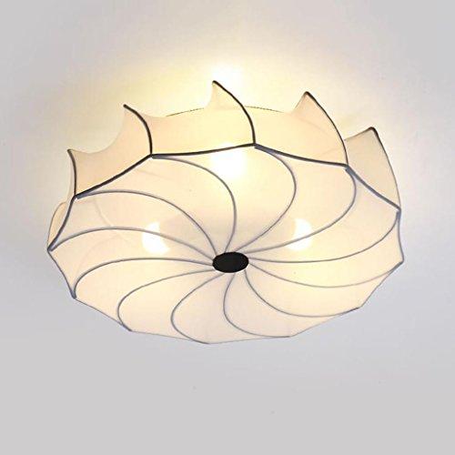 Lampe pendante en Fer Moderne de Fer d'ombre de Lampe de Plafond de LED, Lampe de Plafond Ronde