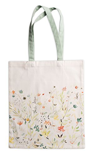 Maison d' Hermine Colmar 100% Cotton | Tote Bag | Reusable Grocery Shopping Bag | Shoulder Bag (14 Inch by 17 Inch)