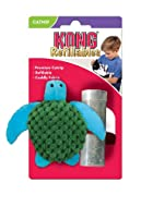 KONG Refillable Catnip Turtle Cat Toy