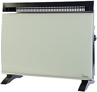 Bimar S600.EU Negro, Gris 1500W Radiador - Calefactor (Radiador, Pared, Piso, Negro, Gris, Botones, Giratorio, 1500 W, 750 W)