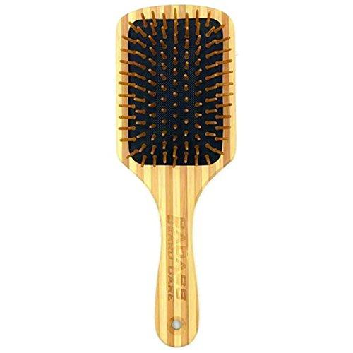 Badass Beard Care Wood Bristle Beard Brush For Men - Anti-static, 100% Bamboo & Light Weight