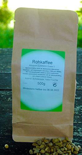 Naturix24 Rohkaffee aus Äthiopien DJIMMAH Grade 5 # 500g