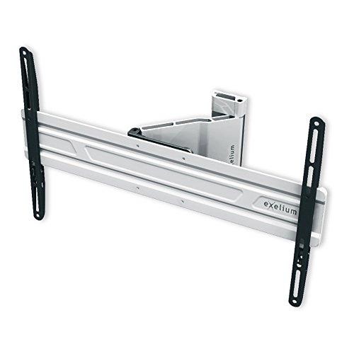 'XFlat–Supporto da parete neo10–inclinabile e orientabile, max. 25kg, distanza dalla parete 35–240mm per TV + Monitor fino a 107cm/42pollici/VESA200