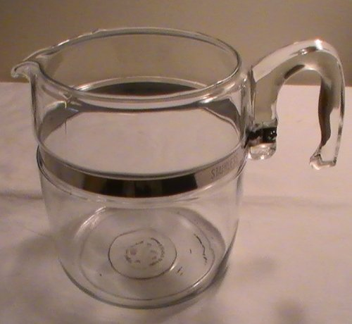 Vintage Corning Pyrex 9-cup Glass Coffee Pot Percolator # 7759