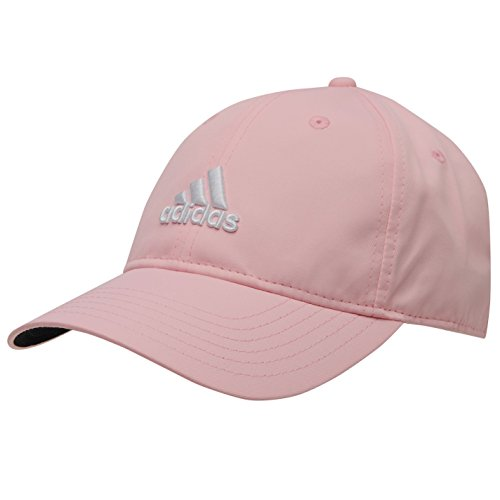 adidas Cap Golf Tennis Schirmmütze rosa verstellbar atmungsaktiv UV Schutz