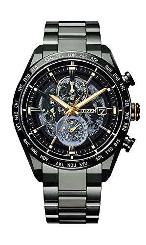 [Citizen] 腕時計 アテッサ HAKUTO-Rコラボレーションモデル 世界限定1,600本 AT8185-71E メンズ ブラック