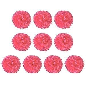 10pc Mother's Day Teacher's Day Gift Fake Flower Hydrangea Simulation Carnation Silk Flower Hand Bouquet Festival Desktop Decoration