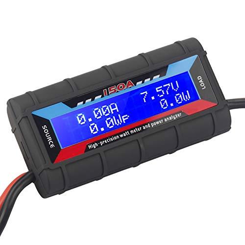 HTRC 150A High Precision RC Watt Meter Power Analyzer Battery Voltage Amp Meter