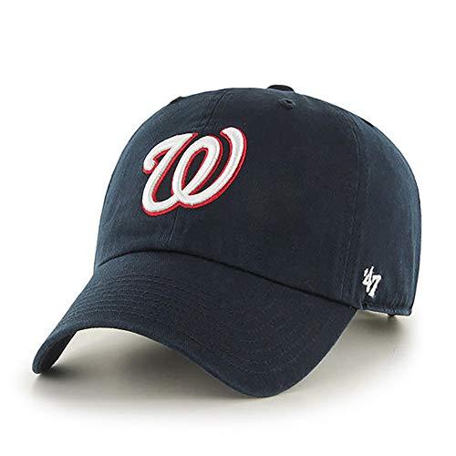 '47 MLB Alternate Clean Up Adjustable Hat, Adult (Washington Nationals Navy)