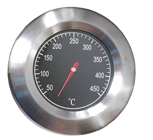 Dr. Richter Grillthermometer mit Rosette - Thermometer - 50 bis 450 °C - Grill