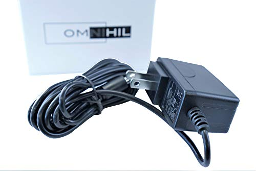 [UL Listed] OMNIHIL 8 Feet Long AC/DC Adapter Compatible with Akai Professional MPK225 MPK249 MPK261 Keyboard Power Supply Charger
