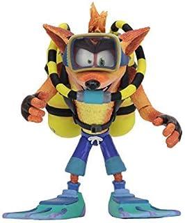 "Crash Bandicoot: Deluxe Crash with Scuba Diving Gear 7"" Scale Action Figure"