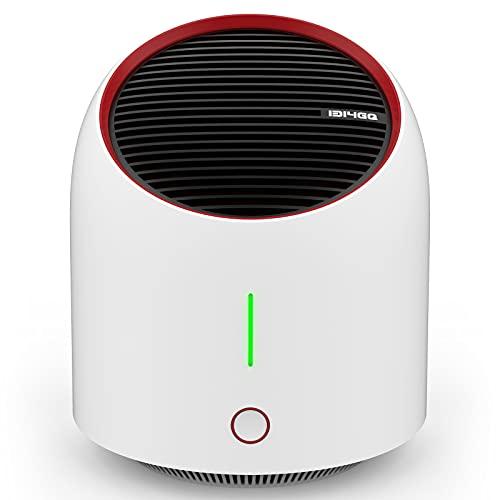 Luftreiniger Air Purifier mit Elektronischer Filter,Leise Air Purifier für 99,9{4be03d73bb15b9a8e7a01595696162d71b528873accc56fdc760933bedc27ab1} Filterleistung,Luftreiniger Allergie für Raucherzimmer Wohung,Tragbarer Luftreiniger Gegen Staub,Rauch,Pollen Tierhaare