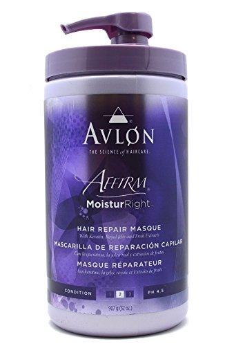 Avlon Affirm Moistur Right Hair Repair Masque - 32 oz
