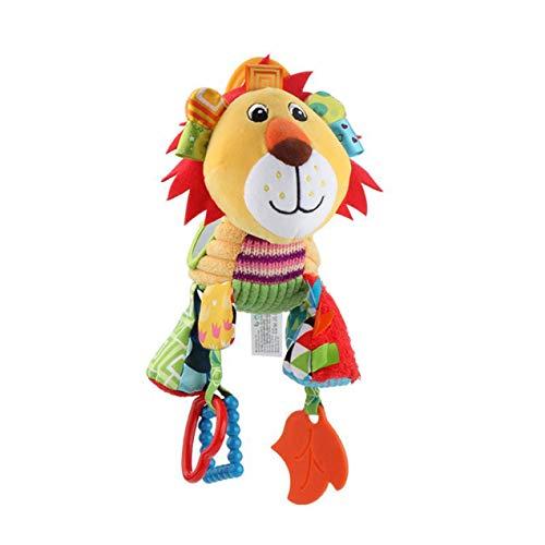 DBSUFV Cama de bebé, colgante de coche, caja de música, muñeca con campana extractora, muñeca bonita de dibujos animados, juguete cómodo para bebés, juguetes de educación temprana para niños