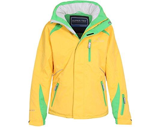 Bergson Kinder Skijacke Michi, Lemon Chrome [569], 176 - Kinder