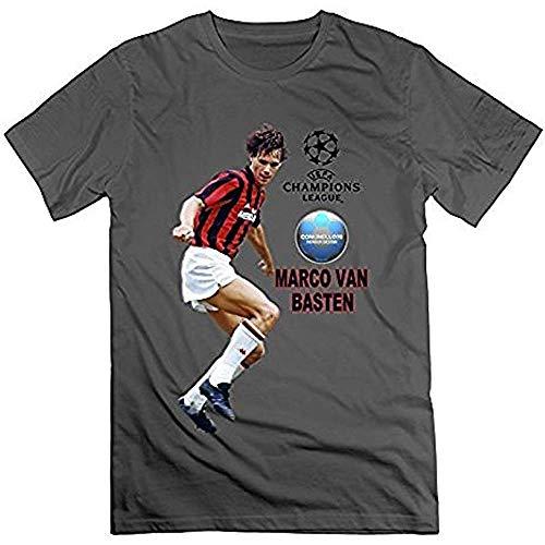 Marco Van Basten Ajax A.C. - Zapatillas de deporte para hombre Milan - Camiseta PC. XL