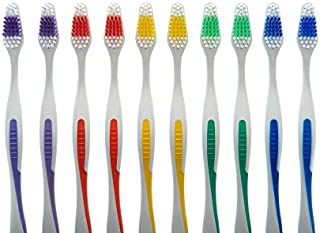 FactorDuty 100 Toothbrushes Lot Wholesale Standard Classic Medium Soft Toothbrush