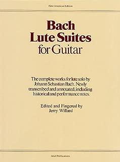 Best bach lute suite 1 guitar Reviews