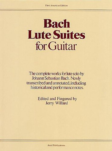 Lute Suites for Guitar (Classical Guitar)