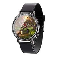 フォートナイトースアニメゲーム時計男性女性シンプルスタイルファッション時計クォーツ時計誕生日プレゼント-A3