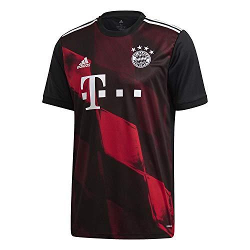 adidas Herren Trikot 20/21 Fc Bayern 3RD Jersey, Black, L, FN1949