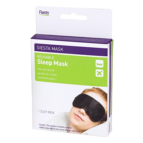 Flents Sleep Mask, One Size Fits All, Great for Travel & Sleeping
