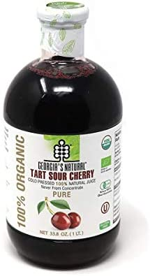 Organic Tart Sour Cherry Juice Concentrated Gluten Free Vegan Kosher Unsweetened Rich in Antioxidants product image