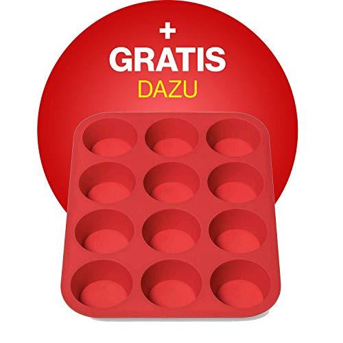 Krups Premium Küchenmaschine 17 teilig, 4,6L Edelstahlschüssel, Silikonschüssel, 4 Rührwerkzeuge Edelstahl, spülmaschinenfest, 1100W, Schnitzelwerk, Fleischwolf, Gratis Rezepte und 12er Cupcake Form - 10