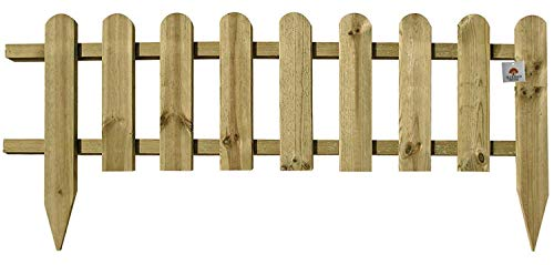 Ruddings Wood Large Wooden Picket Fencing - F