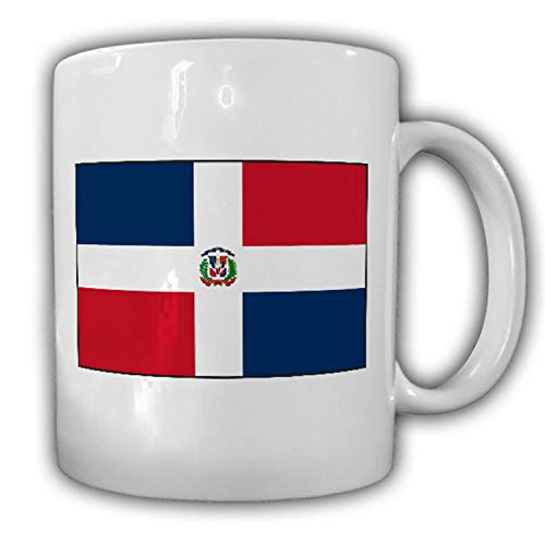 Dominikanische Republik Fahne Flagge República Dominicana - Tasse #13462