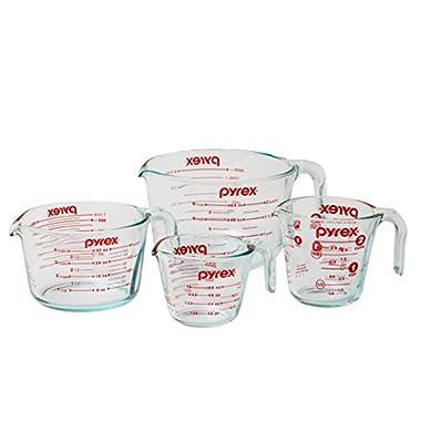 Pyrex Measuring Cup 4-piece Set