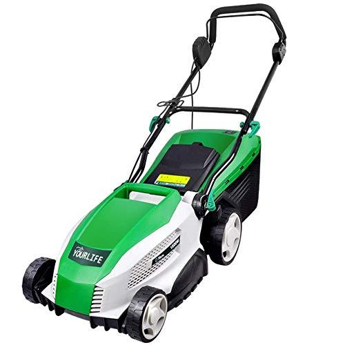 MYPNB Inalámbrico cortadora de césped, Cortador de césped eléctrica Auto propulsado cortadora de césped casa de usos múltiples desmalezadora for el jardín Parque Patio