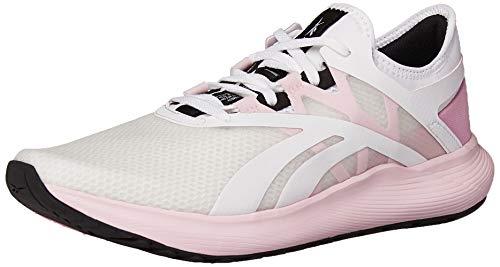 Reebok Women's FLOATRIDE Fuel Run Shoe, White/Pixel Pink/Black, 7.5