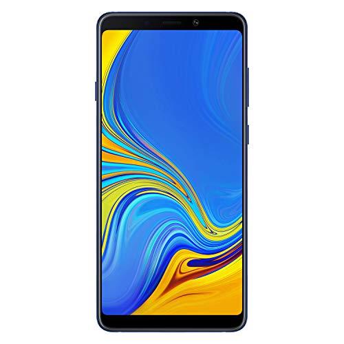"Samsung Galaxy A9 (2018) Smartphone, Blu (Lemonade Blue), Display 6.3"" 128 GB Espandibili, [Versione Italiana]"