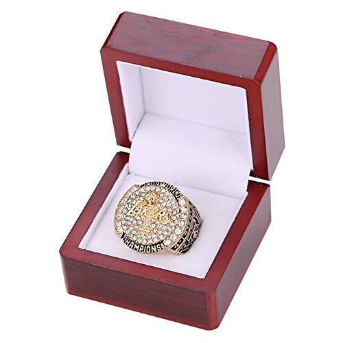 FGRGH Los Angeles Laker 2009 - Anillo de campeonato de baloncesto con réplica de anillos de 2009 para fans de los hombres, idea de regalo de recuerdo, con caja de 13