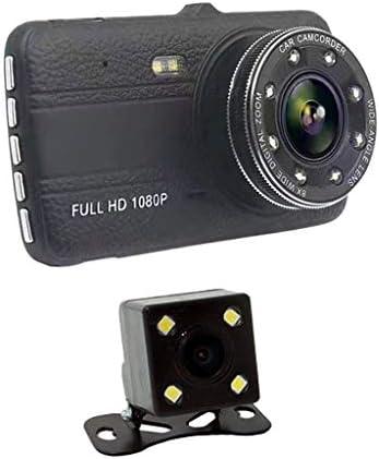 Generic 4 HD 1080P Dual Lens Car DVR Dash Cam Video Camera Recorder Rearview Camera product image