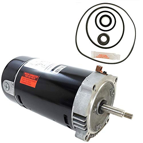 Puri Tech Century Electric UST1102 1-Horsepower Up-Rated Round Flange Replacement Motor (Formerly A.O. Smith)