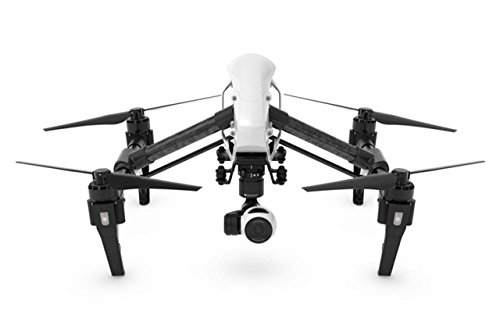DJI DJIIN1RV2  Inspire 1 V2.0  Aerial UAV Quadrocopter Drohne mit Integrierter 4K, Full-HD Videokamera, 3-Achsen-Gimbal, Digitaler Fernsteuerung - Schwarz/Weiß