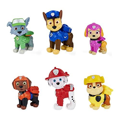 Paw Patrol Geschenkset mit 6 Hero Pups Spielfiguren aus dem Kinofilm, ab 3 Jahren