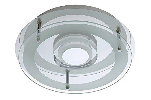 "Trango Design LED Wandleuchte Badlampe Deckenlampe Flurleuchte""Jessica"" inkl. LED Leuchmittel TG3185"