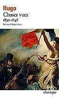 Choses Vues (Folio (Gallimard))