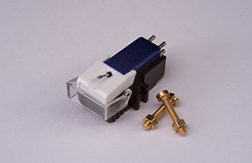 Cartridge and Stylus, needle + mounting bolts for Numark TT1625, TT1520, TT100, TT, TT1, TT2, Limit DJ2500B,TT500, TT200, TT1700, TTi, TTX1, TTX, TT1600, TT1910, TT1610, TT1529, TT1650, TT1510, TT1550